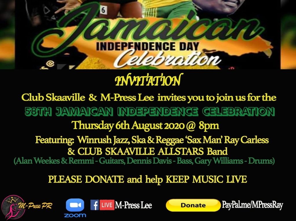 Jamaica Independence Day bash